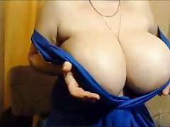 BBW Big Boobs Mature Russian Webcam