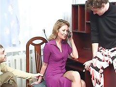 Amateur Anal Double Penetration MILF Russian