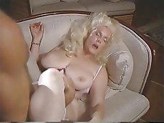 Blonde Pantyhose Vintage MILF