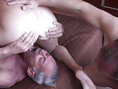Amateur Cuckold Mature Threesome