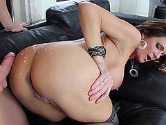 Anal Big Tits Brunette Doggystyle Fucking