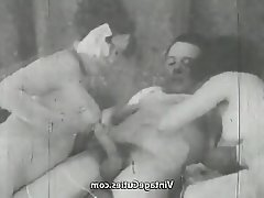 Blowjob Mature Old and Young Threesome Vintage