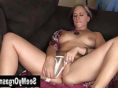 Amateur Brunette Masturbation Piercing Softcore