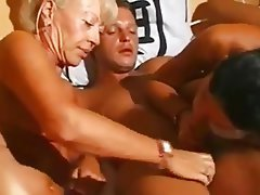 German Granny Group Sex MILF