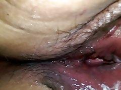 BBW Cheating Close Up Creampie Hairy