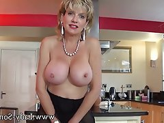 Big Boobs British Mature MILF