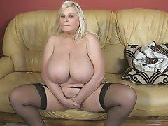 BBW Big Boobs British Mature MILF