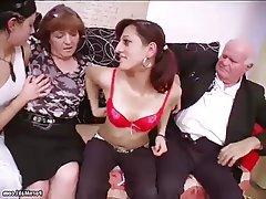 BBW Granny Mature Old and Young Saggy Tits