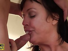 Big Boobs British Creampie Mature