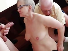 Blowjob Facial Granny Group Sex Swinger