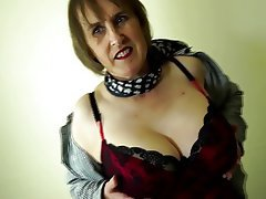 Big Boobs Granny Mature MILF Hairy