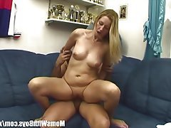 Blonde Blowjob Mature MILF Old and Young