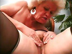 BBW Granny Hairy Lesbian Mature
