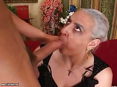 Big Cock Granny Hairy Mature Old and Young