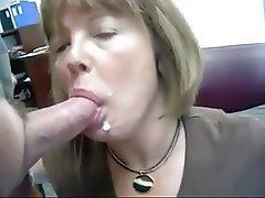 Amateur Blowjob Cuckold Facial Mature
