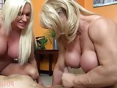 Face Sitting Big Tits Threesome