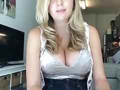 Babe Blonde Big Boobs Big Tits