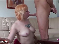 Teen MILF Old and Young German Rimjob