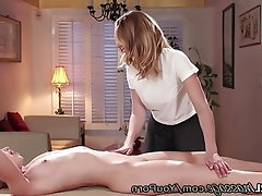 MILF Old and Young Massage Spanking Cunnilingus