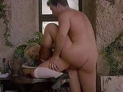 Blonde German Hardcore Pornstar Vintage