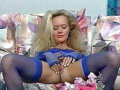 Blonde German Masturbation Pornstar Vintage
