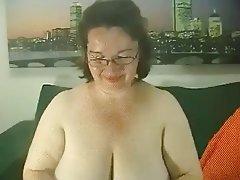 BBW Big Boobs Lingerie Granny Mature