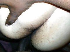 Amateur BBW Close Up Creampie Interracial