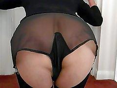 Amateur British Pantyhose Stockings Vintage