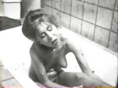 Hairy Lesbian MILF Shower Vintage