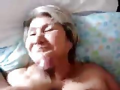 Amateur Blowjob Close Up Cumshot Granny