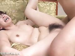 Asian Blowjob Cumshot Hairy Mature