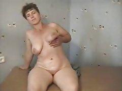 Masturbation Mature MILF Russian