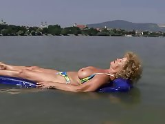Big Boobs Blonde Granny Mature Old and Young