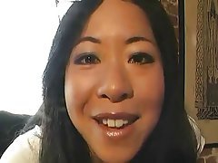 Asian Blonde Interracial Lesbian Pornstar