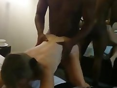 Amateur British Cuckold Interracial