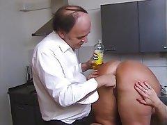 Big Boobs German Granny Mature