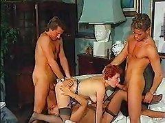 Anal Group Sex Hairy MILF Vintage