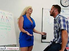 Big Boobs Blonde Blowjob Hardcore Pornstar